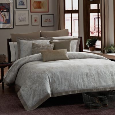 Kenneth Cole Reaction Home Python Comforter - BedBathandBeyond.com- THIS WOULD LIKE NICE IN OUR TURQUOISE BEDROOM!