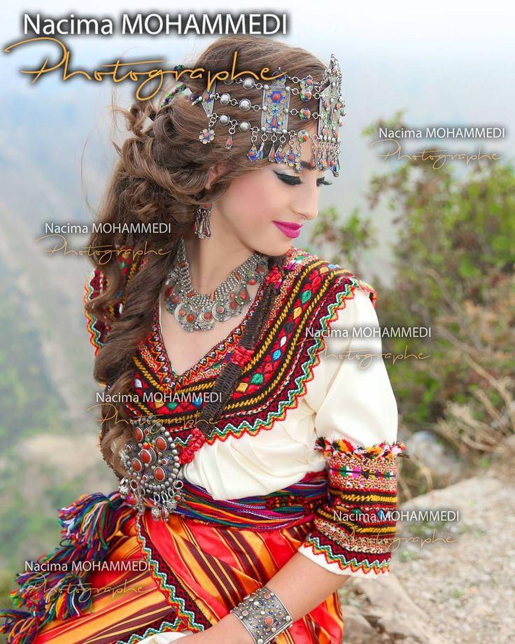 Robe kabyle traditionnelle (@nacima_mohammedi) sur Instagram