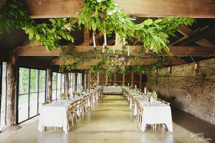 Set for wedding breakfast - wedding reception ideas - wedding reception decoration ideas  #rusticweddinginspiration
