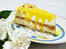 Gelado de natas com bolacha e doce de ovos, bom demais! Uma tentação fresca para o verão.