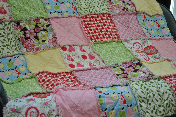 : Ragquilts, Crafts Diy Fun Ideas, Rag Quilts, Crafts Sewing Diy, Baby, Craft Ideas