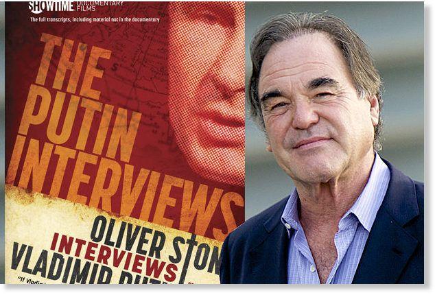 Un mot à propos du chef-d'œuvre d'Oliver Stone : conversations avec monsieur Poutine. Au sortir des 4 épisodes du documentaire, j'invite quiconque ne l'a pas vu de le voir. A partir d'afrique, France3 bloque les replay on se demande pourquoi...