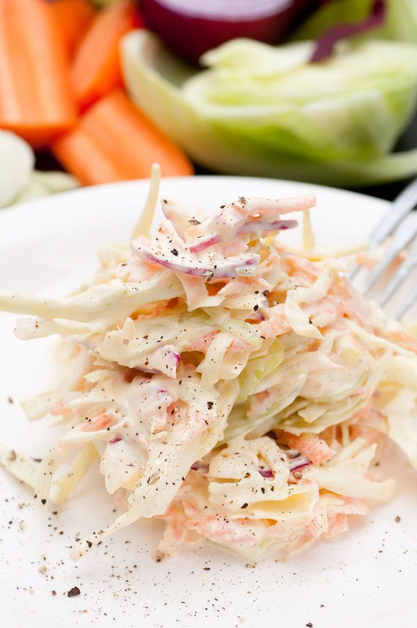 We Love This Creamy Cole Slaw And You Will Too! Add 1 tablespoon of adobe sauce, 1 to 2 minced canned chipotle peppers, and 1/4 teaspoon of cumin to the sauce. Adds a bit of a kick. Appetizer 7 of 7.