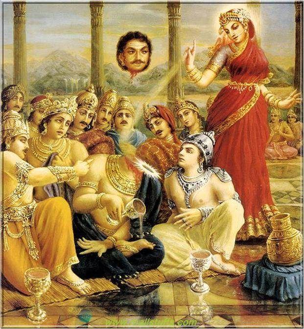 Mohini Roop Avtar Of Vishnu Ji