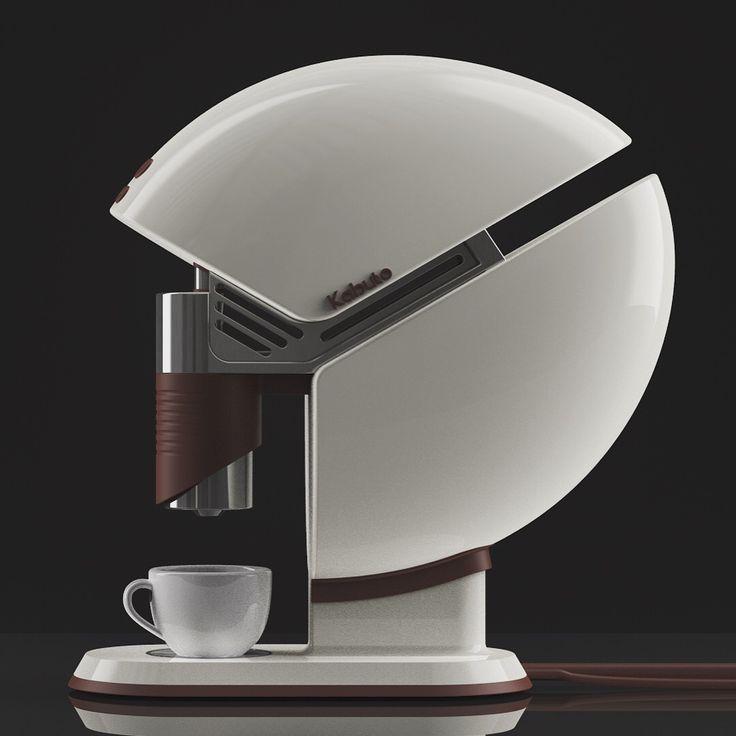 Kabuto - coffee maker concept design