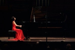 Yuja Wang, world's greatest pianist. Love her. Pure, raw, natural talent.