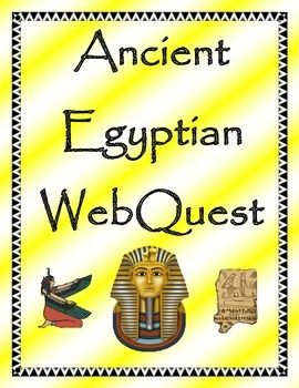 "This WebQuest helps students explore Ancient Egypt through websites that feature interactive games, activities, videos, and text. Students go on an ""ancient expedition"" that will keep them engaged and motivated. My students have enjoyed doing this project as an independent activity or partner activity."