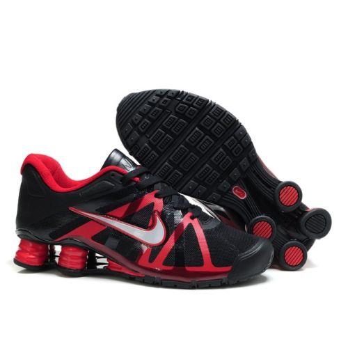 Nike Shox Roadster12 Red Black Men Shoes $79.59