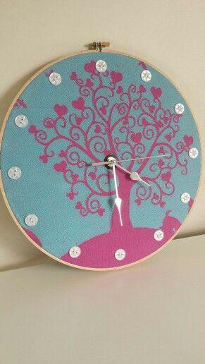 Clock by EmBee Designs (made from Kokadi Erna im Wunderland)