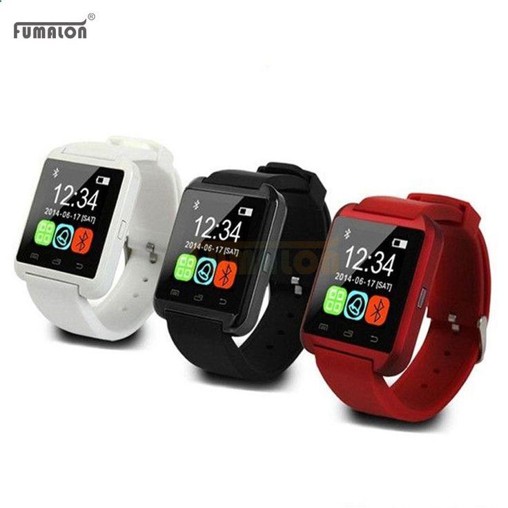 Phone Watch - Hot sale U8 New Bluetooth Smart Watch U Smart Watch Wrist Watch For IPhone 4/5S/6 Android Phone Smart Phones watch