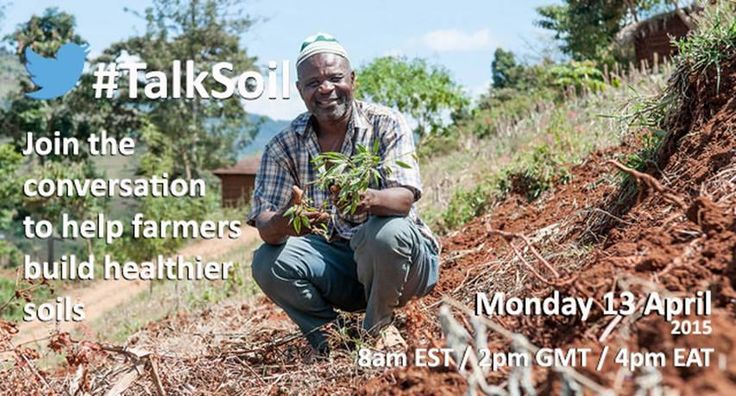 Join our expert on soils, Chepkemoi Janeth, TODAY on Twitter to ‪#‎TalkSoil‬ at 4pm EAT with Shamba Shape UP, Syngenta, Soil Cares Initiative, Food and Agriculture Organization of the United Nations (FAO), One Acre Fund!