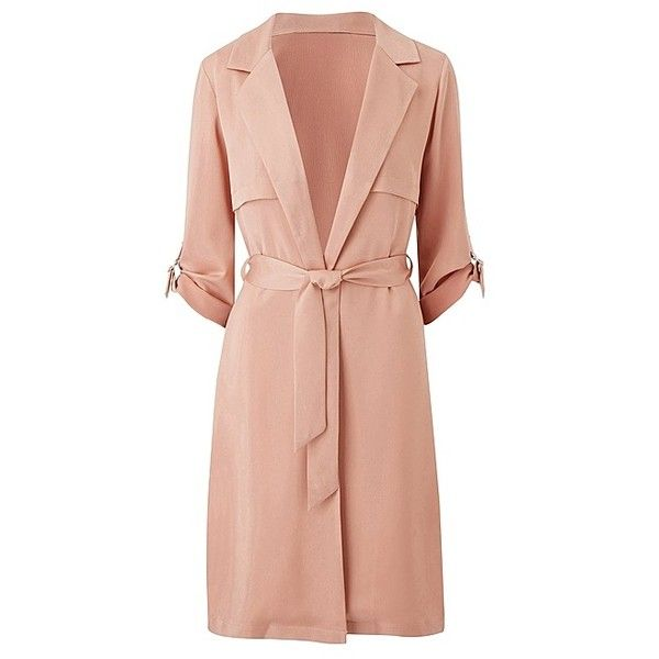 Longline Duster Jacket with Ring Detail   SimplyBe US Site (€34) ❤ liked on Polyvore featuring outerwear, jackets, long line jacket, longline jacket, duster jacket and red jacket