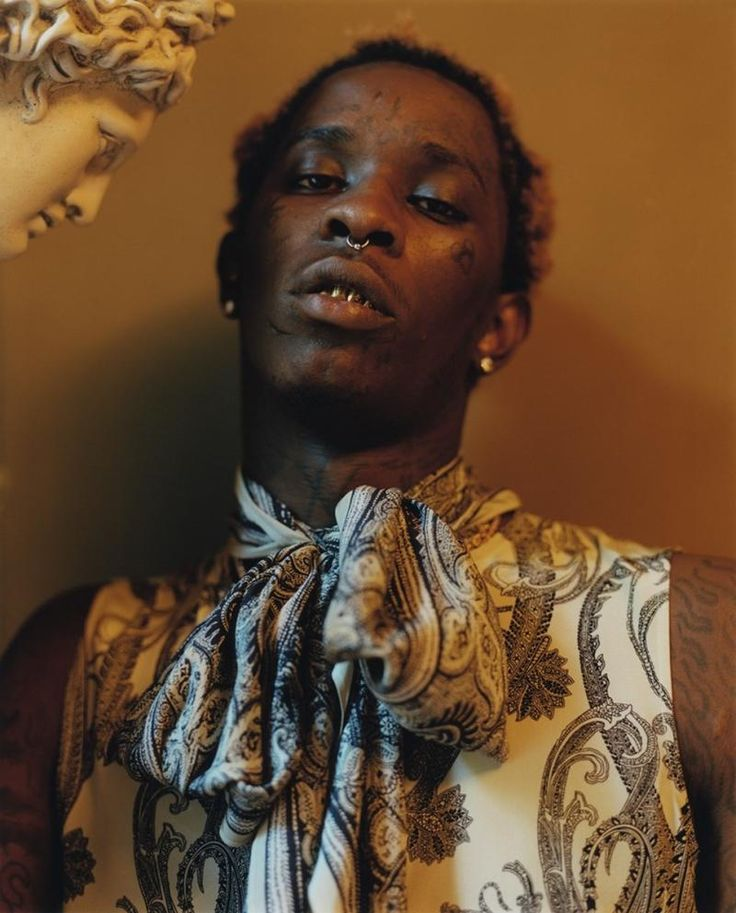 Young Thug Wears Dress on 'Dazed' Magazine Cover | Complex
