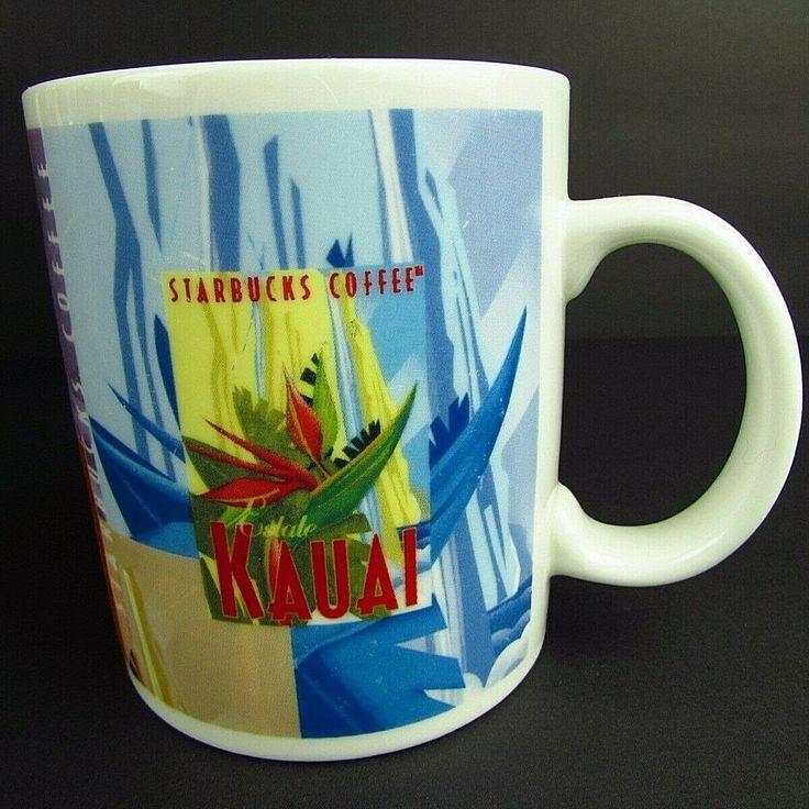 Details about estate kauai hawaiian starbucks coffee cup