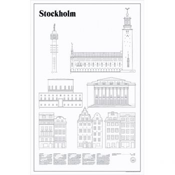 Studio Esinam's Stockholm Elevations poster