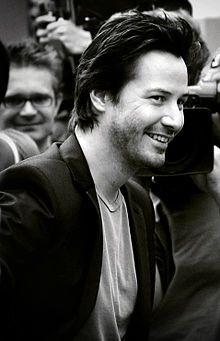 Keanu Reeves.... Such a sweet guy.. Very down to earth and when complemented on his acting in Lake House *my fave* his reply with thank you and that Sandy was just great to work with.. Classy... He does brooding like no one else can... :)