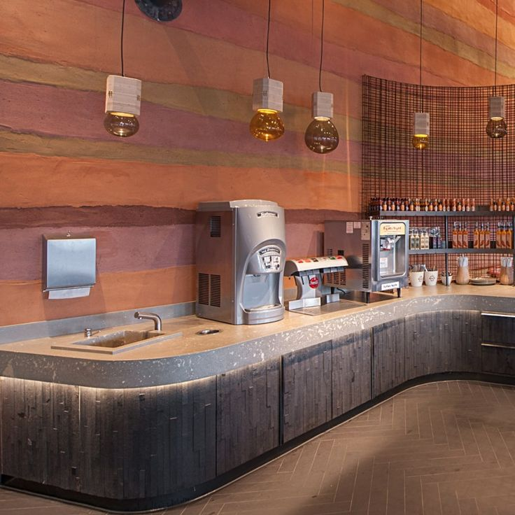 Restaurant Kitchen Wall Finishes 100 best restaurant wall finishes with clayworks images on