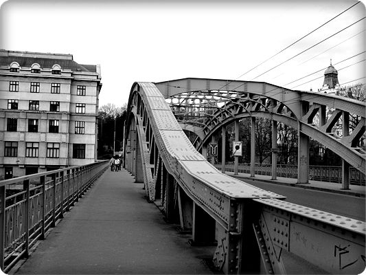 Steel Bridge, Ostrava.