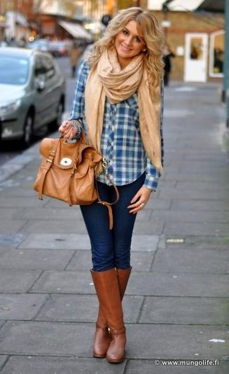 skinny jeans and boots | ... -and-satchel-bag-and-skinny-jeans-and-knee-high-boots-large-3935.jpg
