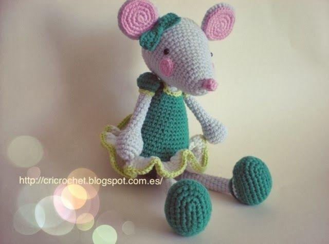 CRICROCHET: Pretty mouse free pattern