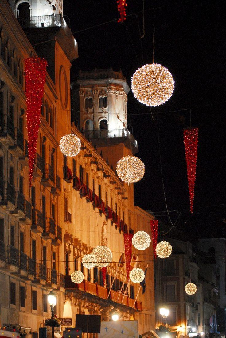Iluminación navideña en #Alicante #CostaBlanca