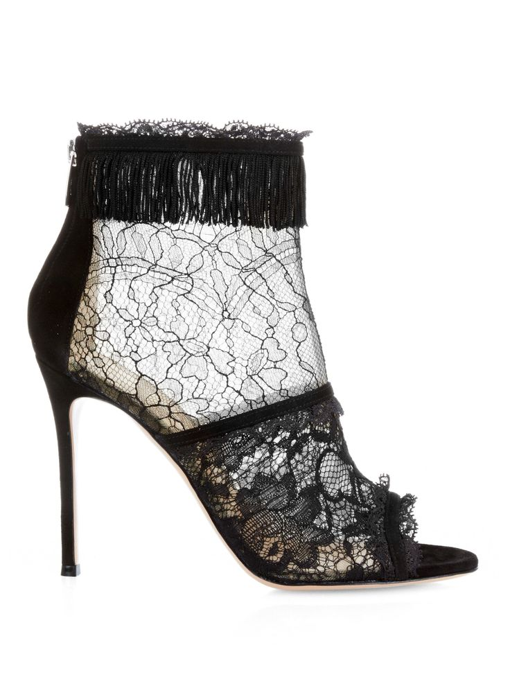 Liberty Bootie lace ankle boots | Gianvito Rossi | MATCHESFASHION.COM US