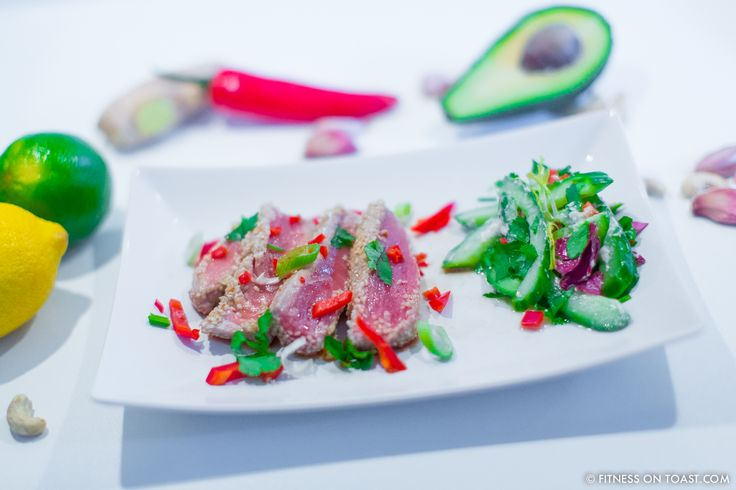 SEARED MALDIVIAN TUNA DISH!