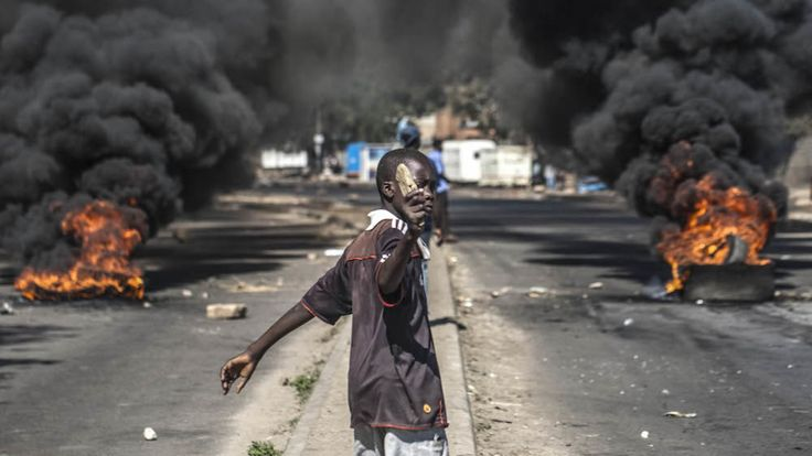 Unrest mounted in Zimbabwe at the beginning of July. (Photo: AFP)