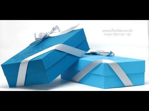 "Birthday Blooms, Silver 5/8"" Satin Ribbon, Clear Wink of Stella - Extra Large Lidded Box (7 X 4 X 2)"