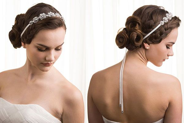 Top 20 Fabulous Updo Wedding Hairstyles: 11 Best Images About Wedding Hair Accessories On Pinterest