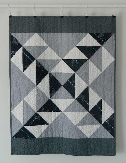 not a sampler baby quilt