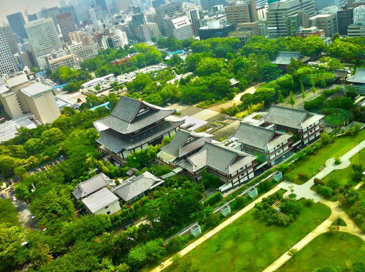 Templo Zōjō-ji em Tokyo, Japan.