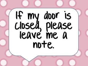 School Counselor Door Sign - Free printable, link to site