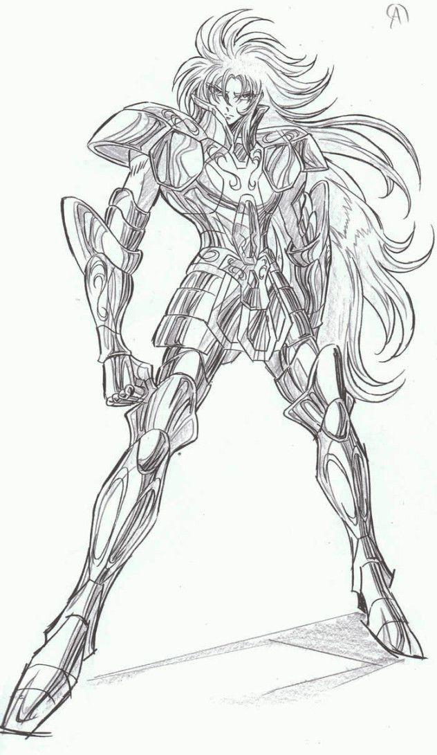 desenhos para colorir cavaleiros do zodiaco gemeos