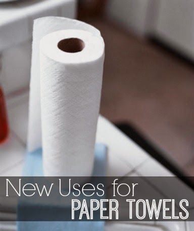 New Uses for Paper Towels | www.inspirationformoms.com #sixonsaturday #newusesforthings