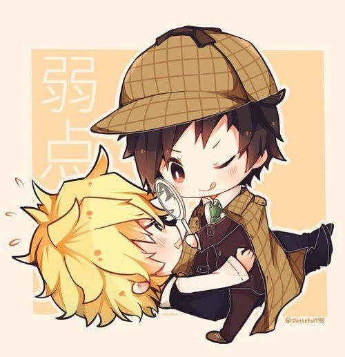 Imagen de anime, chibi, and kawaii