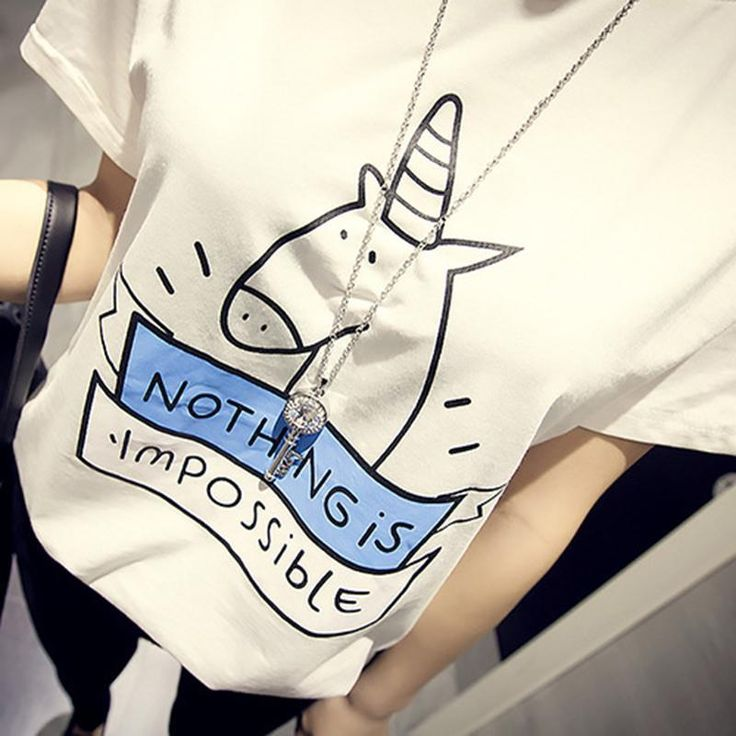 Nothing Is Impossible Unicorn T-shirt