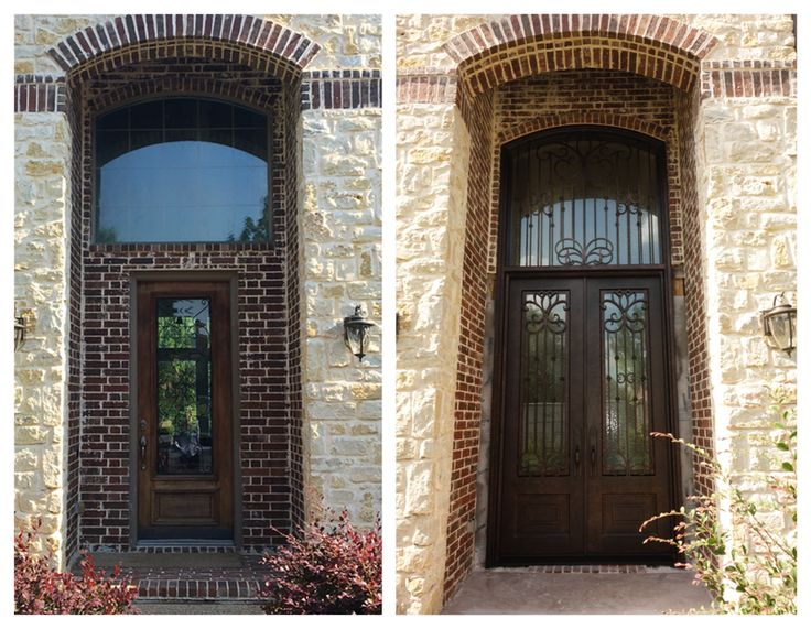 Before U0026 After A Du0027Hierro Iron Door Installation. Email Design@dhierro.