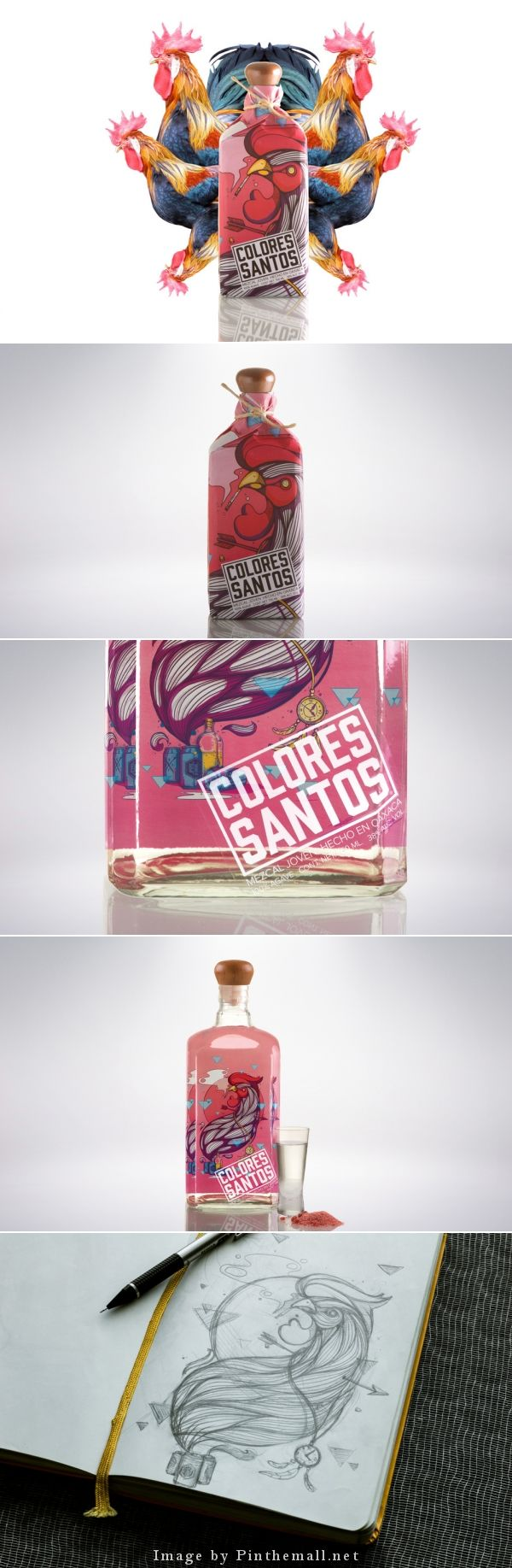 Love this Colores Santos packaging but not sure I make the Mezcal connection curated by Packaging Diva PD