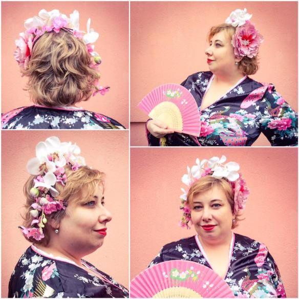 Ob Karneval oder Fasching: Plussize Geisha | Miss Kittenheel