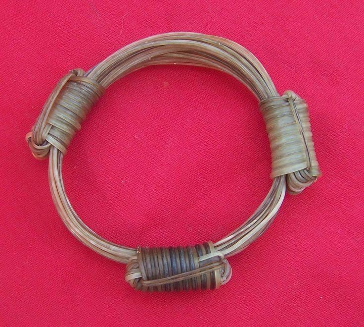 SR82 VERY RARE 20 WHITE HAIR bracelet 3.5inc Diameter Price $1600 incl. ship & ins