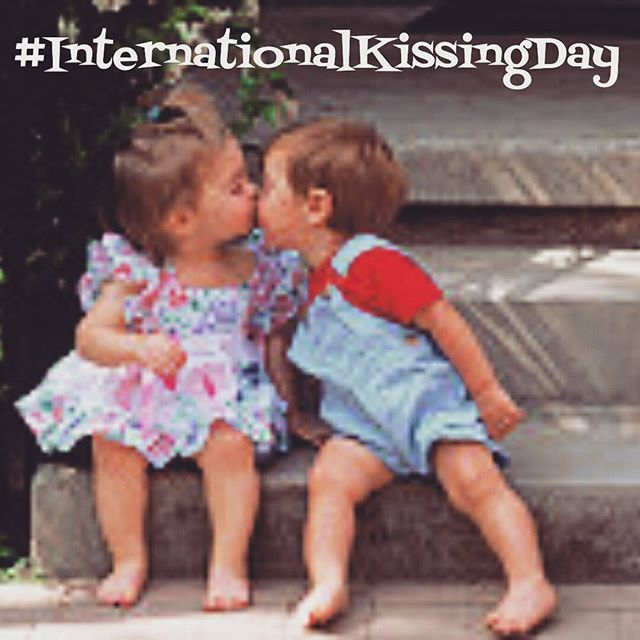 It's International Kissing Day!  The kiss is the most obvious sign of affection one is allowed to show in public. It can mean love, friendship, respect, even a mark of death. It can be the sweetest moment in life or the ultimate disappointment.  Probably the first kiss that stands out in time was Judas' betrayal of Jesus. Showing the Roman soldiers who Jesus was with a kiss.  In the old days, a gentleman would kiss a woman's hand in a show of respect.  Then there's the French way of doing…