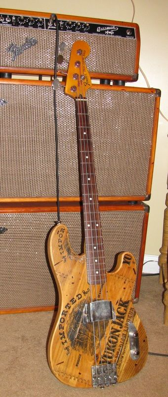 Grove Guitars - Yukon Jack Bass