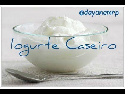 Iogurte Caseiro fácil. Sem complicação. - YouTube