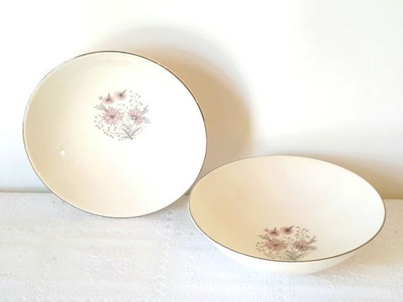 Hey, I found this really awesome Etsy listing at https://www.etsy.com/listing/230574210/midcentury-serving-bowls-modern-china