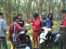 Kebun Karet Di Sragen Jawa Tengah