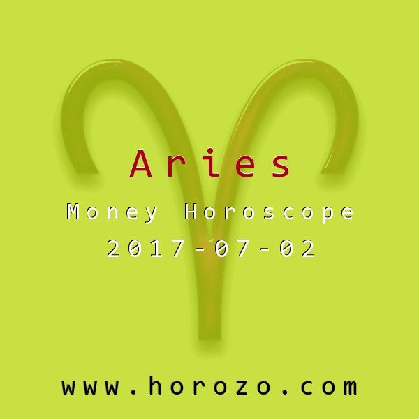 Aries Money horoscope for 2017-07-02: You've been so focused on detail after detail after boring, mundane detail that you've lost sight of the point of it all. You'll get a pleasant reminder today. It's nice to experience this kind of wake up call..aries