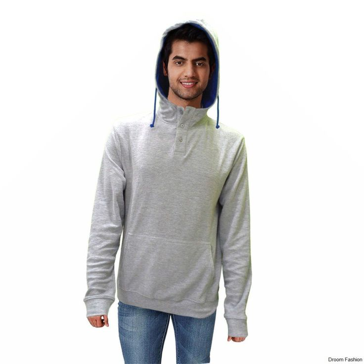 Your style score will certainly deck up as you wear this aqua blue coloured hoody from the house of Droom Fashion. Buy stylish design, this hoody will certainly add more to your charming personality.