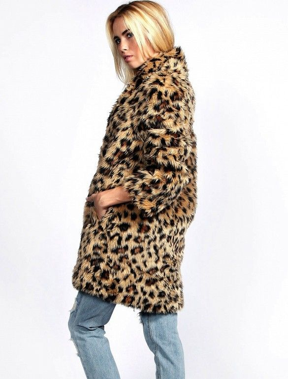 Best 25  Leopard fur coat ideas on Pinterest | Leopard fashion ...