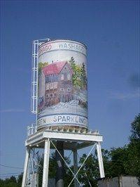 Washago Water Tower - Washago, Ontario, Canada